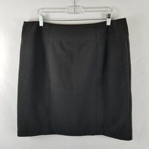 Worthington Black Pencil Straight Skirt